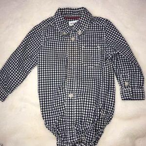 Baby carters button down shirt